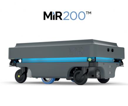 MiR 200 - Autonomní mobilní robot (AGV) ve společnosti Visteon
