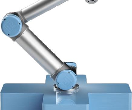 Integrace Universal Robots UR16e v Nitranském kraji