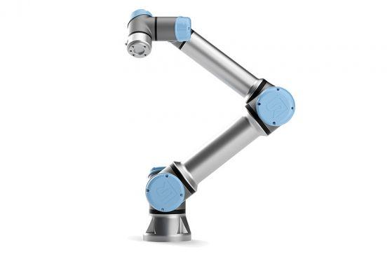 Kolaborativní roboty UR5 a grippery Schunk