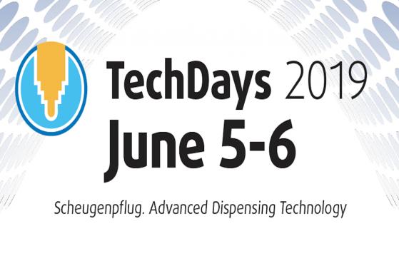 Pozvánka na Scheugenpflug Tech days 2019 (5.-6.6. 2019)