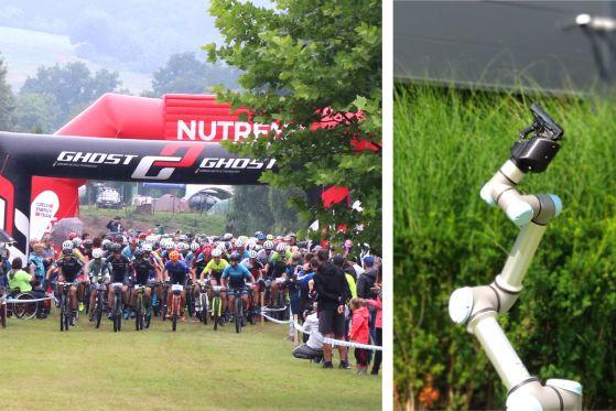 Robot opět startoval závod MTB Maraton Amtech Juvacyklo Buchlovice 2020
