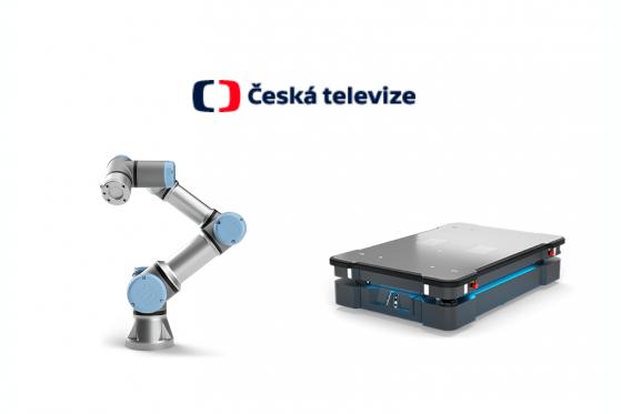 Reportáž ČT o kolaborativních robotech