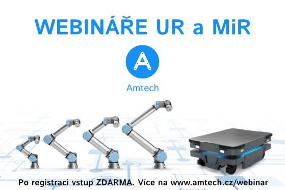 AMTECH, spol. s r.o. - webináře Robotika