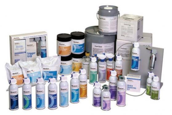 MicroCare - čistící prostředky pro elektroprůmysl i jiné obory