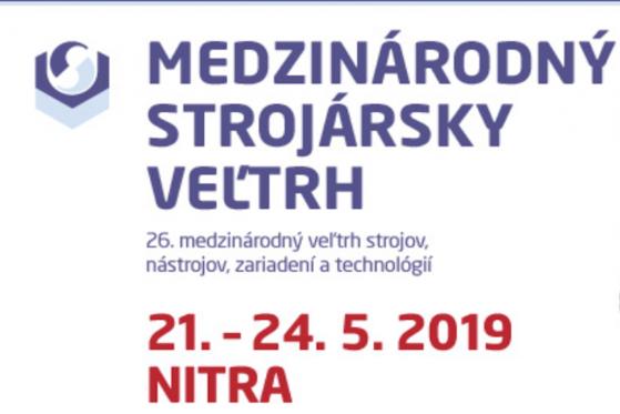 Pozvánka na MSV v Nitře, 21.-24.5.2019