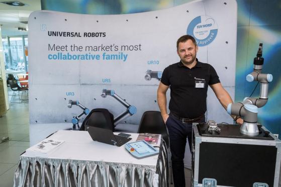 Universal Robots: coboty jsou za současné situace na trhu práce  stále zajímavější také pro personalisty